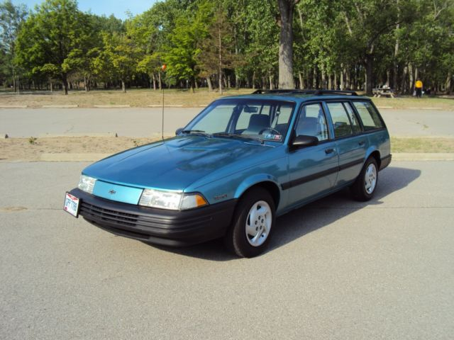 1993 CHEVY CAVALIER STATION WAGON, SUPER CLEAN, 53,843 ...