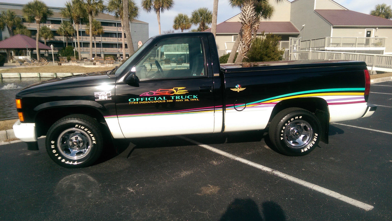 1993 Chevy Indy 500 Pace Truck - Classic Chevrolet Other Pickups ...