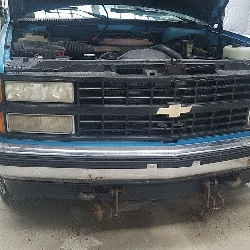 1993 Chevy Pu1500 Mark Iii Conversion W Plow Cheyenne 2dr