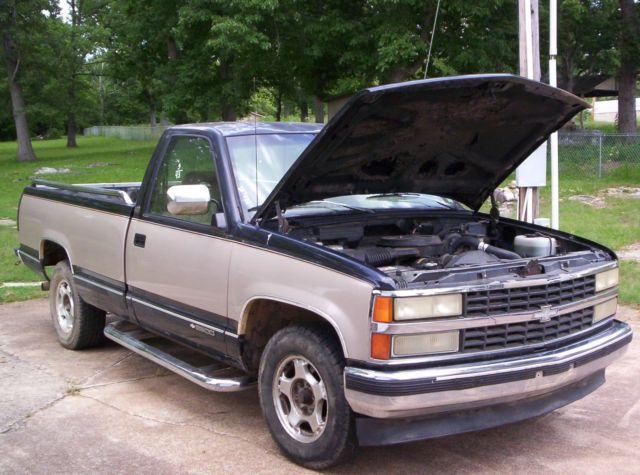 1993 Chevy Silverado 2500 PU -3/4 ton long bed w/new motor, tranny, and more - Classic Chevrolet ...