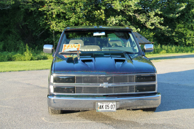 1993 chevy silverado 2wd stepside custom show truck classic chevrolet other pickups 1993 for sale. Black Bedroom Furniture Sets. Home Design Ideas
