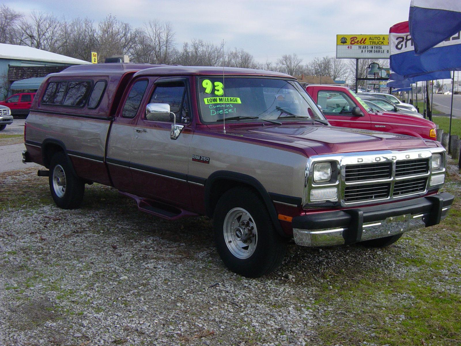 1993 dodge 2500 slt extended cab cummins turbo diesel low. Black Bedroom Furniture Sets. Home Design Ideas