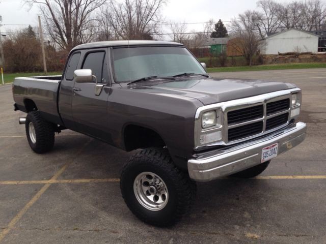 1993 dodge ram 1 ton 4x4 cummins turbo diesel classic dodge ram 3500 1993 for sale. Black Bedroom Furniture Sets. Home Design Ideas