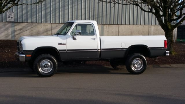 93 Dodge Cummins >> 1993 Dodge Ram 2500 3 4 Ton 5 9 Cummins Turbo Diesel 51 676