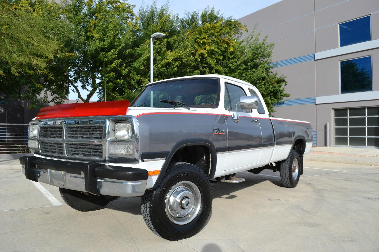 1993 Dodge Ram 2500 4x4 Diesel Auto LE Low Miles 1 OWNER! Low Miles! 1st Gen!!!! - Classic Dodge ...