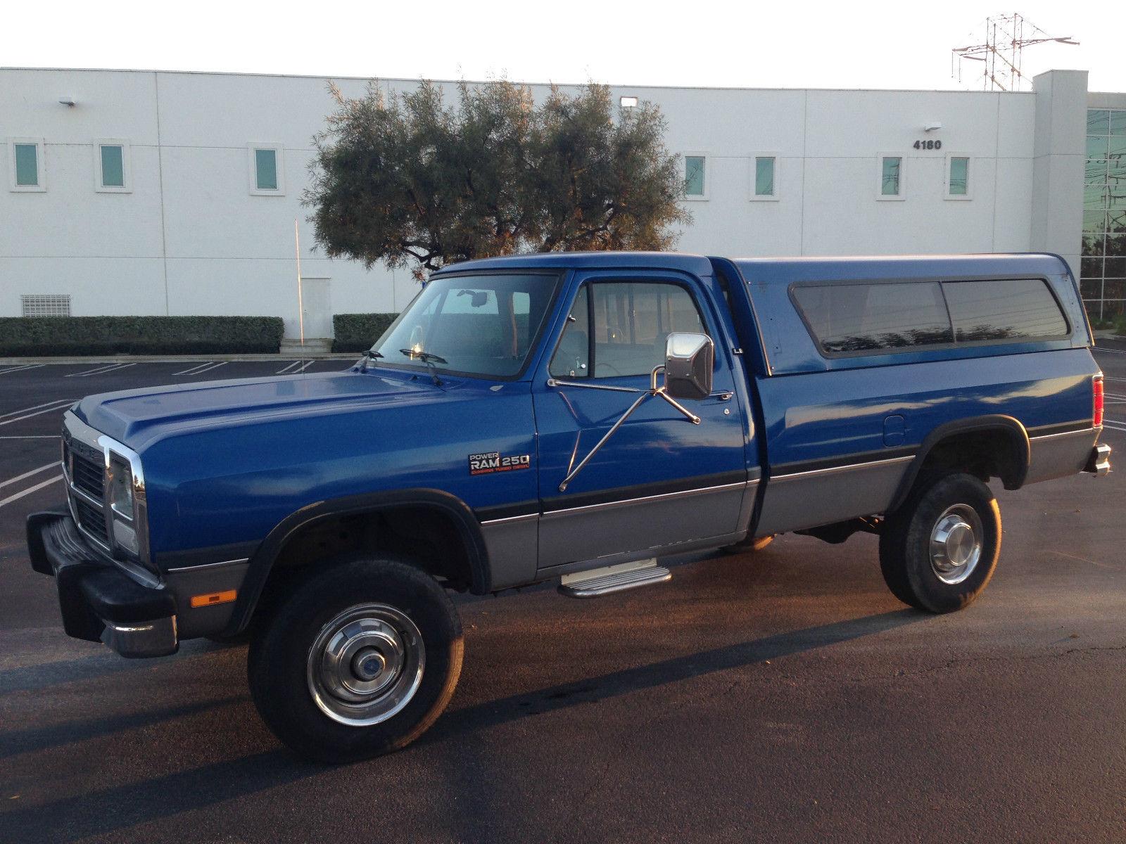 Dodge Ram 2500 Cummins Turbo Diesel For Sale