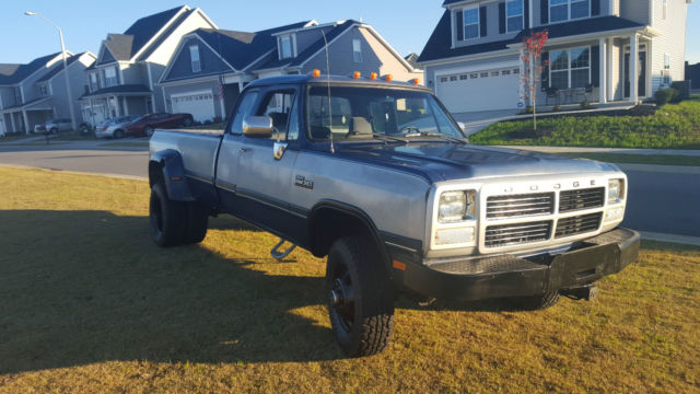 1993 Dodge Ram W350 Classic Dodge Ram 3500 1993 For Sale