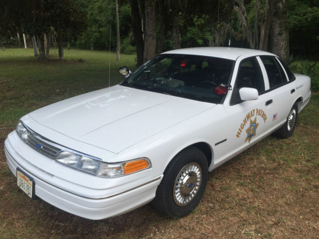 1993 Ford Chp Crown Victoria Slick Top Police Interceptor
