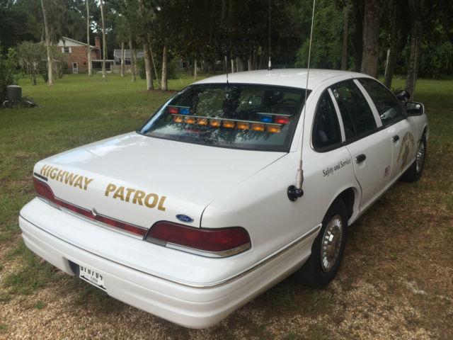 1993 Ford Chp Crown Victoria Slick Top Police Interceptor