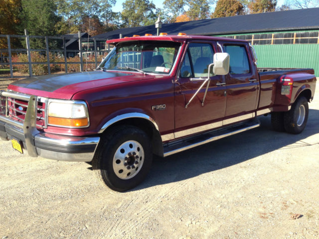 1993 Ford Dually 7 3 Banks Sidewinder Turbo Diesel 5 Speed