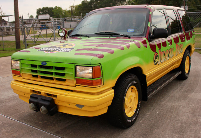 1993 Ford Explorer Xlt Jurassic Park Jungle Tour Replica