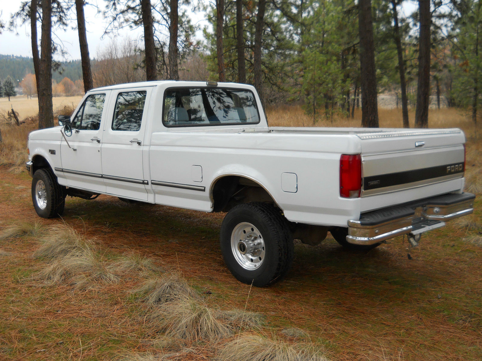 1993 ford f 350 xlt crew cab 7 3 diesel idi 4x4 no reserve. Black Bedroom Furniture Sets. Home Design Ideas