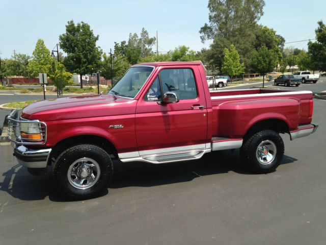 1993 ford f150 flare side 4x4 rust free low miles. Black Bedroom Furniture Sets. Home Design Ideas