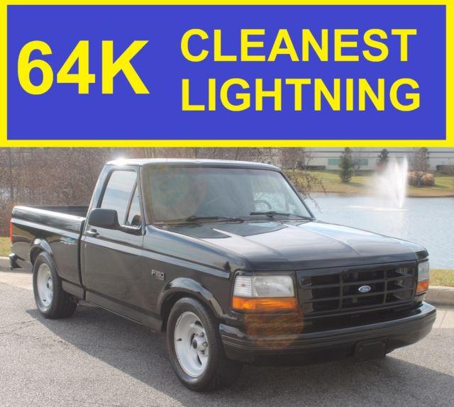 1993 ford lightning 64k super clean 94 95 96 97 92 98 gt ss454 camaro mustang v8 classic ford. Black Bedroom Furniture Sets. Home Design Ideas