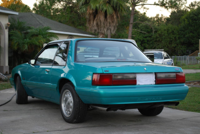 Carfax For Police >> 1993 Ford Mustang LX Notchback Coupe FHP SSP 1 of 3