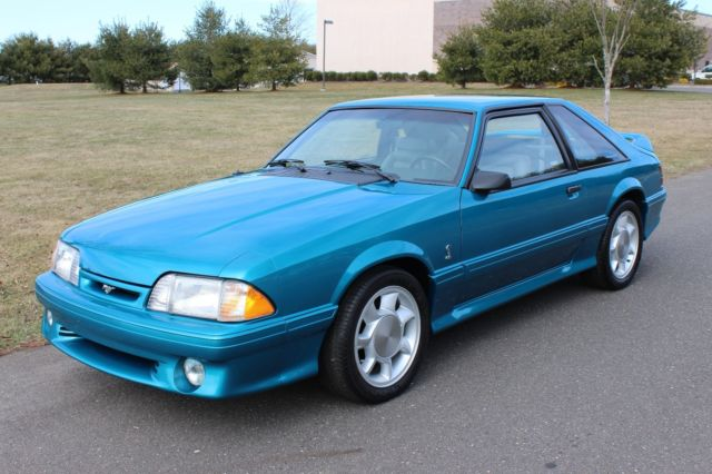 1993 ford mustang svt cobra 1 986 miles all original classic ford mustang 1993 for sale. Black Bedroom Furniture Sets. Home Design Ideas