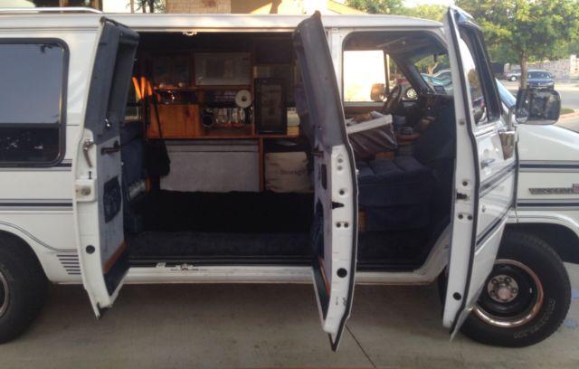 1993 Gmc G2500 Vandura Camper Van 3 Door V6 126 250 Miles