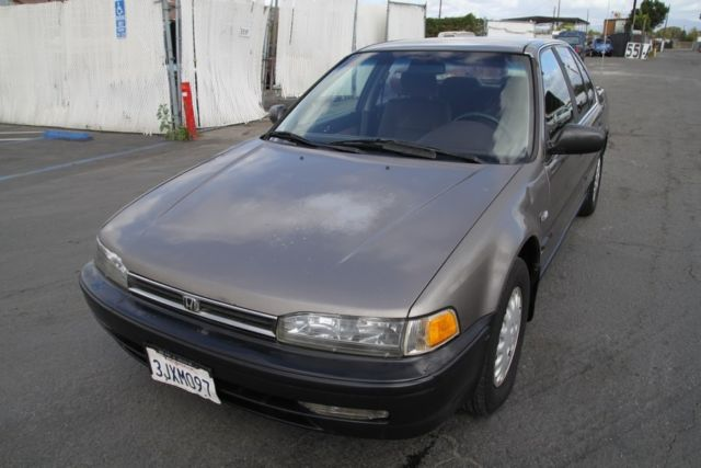 1993 honda accord dx automatic 4 cylinder no reserve for How many miles does a honda accord last