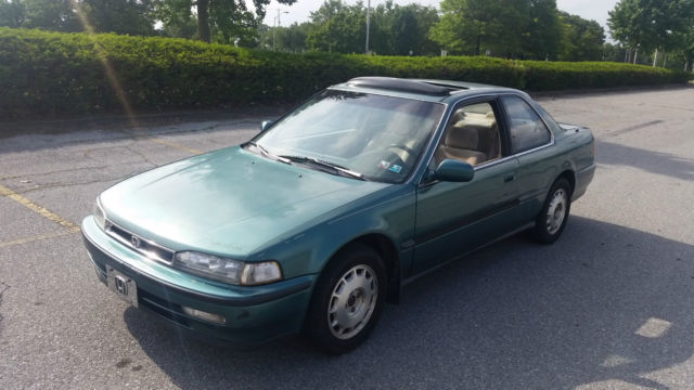1993 Honda Accord Ex 40 Mpg No Reserve Auction
