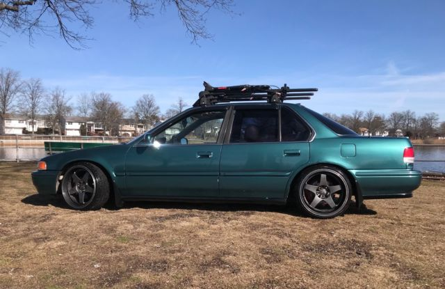 1993 Honda Accord Ex Sedan Cb7 Jdm Static Lowered Camber Stanced 5