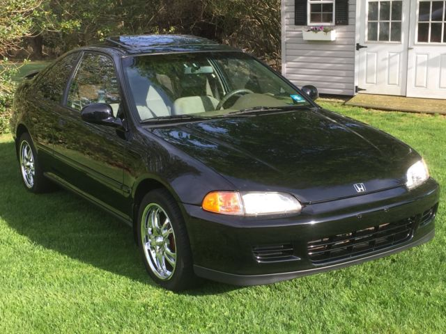 1993 Honda Civic EX Coupe 5 Speed - Classic Honda Civic ...