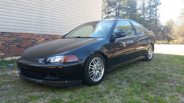 1993 Honda Civic Ex Coupe B16a2 Turbo