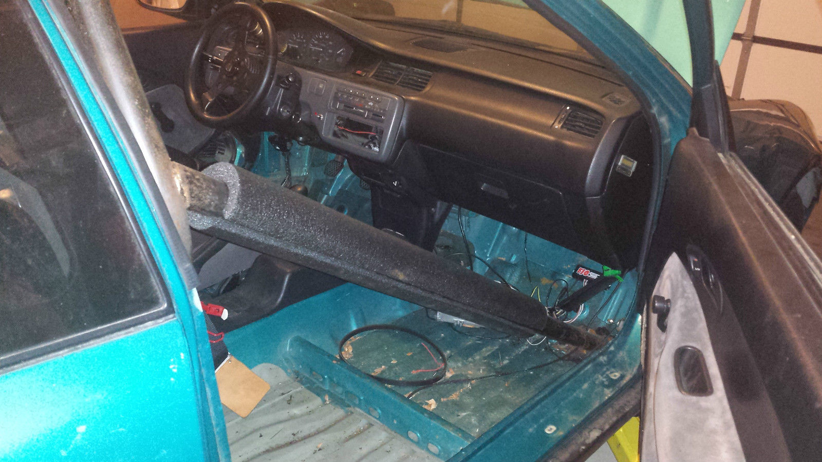 1993 Honda Civic hatchback, built sleeved turbo D16Z6 604WHP/385WTQ Street/Strip - Classic Honda ...