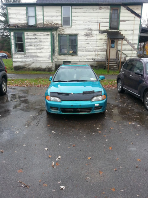 1993 Honda Civic Si Hatchback (FOR PARTS ONLY) Not Running!!!