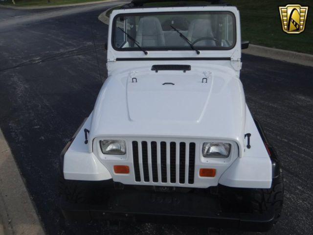 1993 Jeep Wrangler 120553 Miles White SUV Straight 6