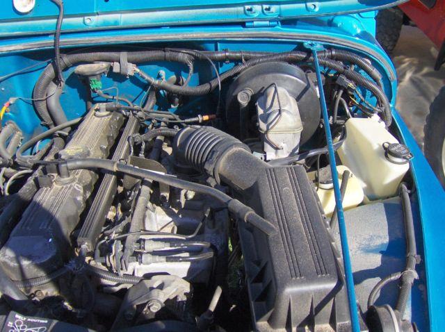 jeep wrangler yj engine