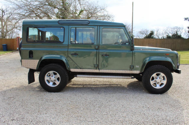 Land Rover Defender For Sale Good Paint