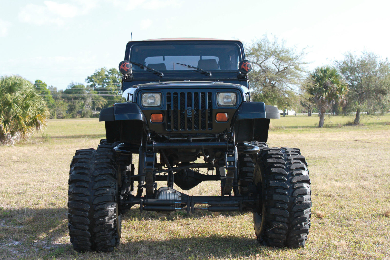**1993 Lifted Jeep Wrangler*383 Stroker*Monster 44'' Boggers FREE DELIVERY**** - Classic Jeep ...