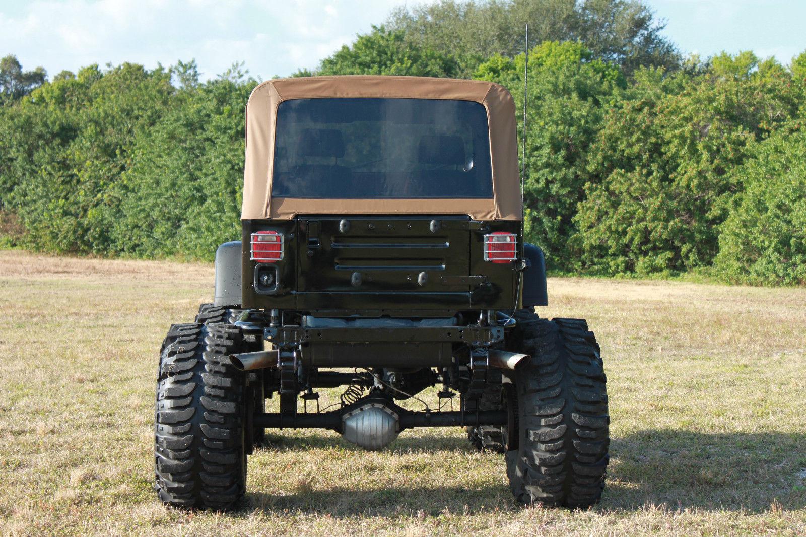 1993 Lifted Jeep Wrangler 383 Stroker Monster 44