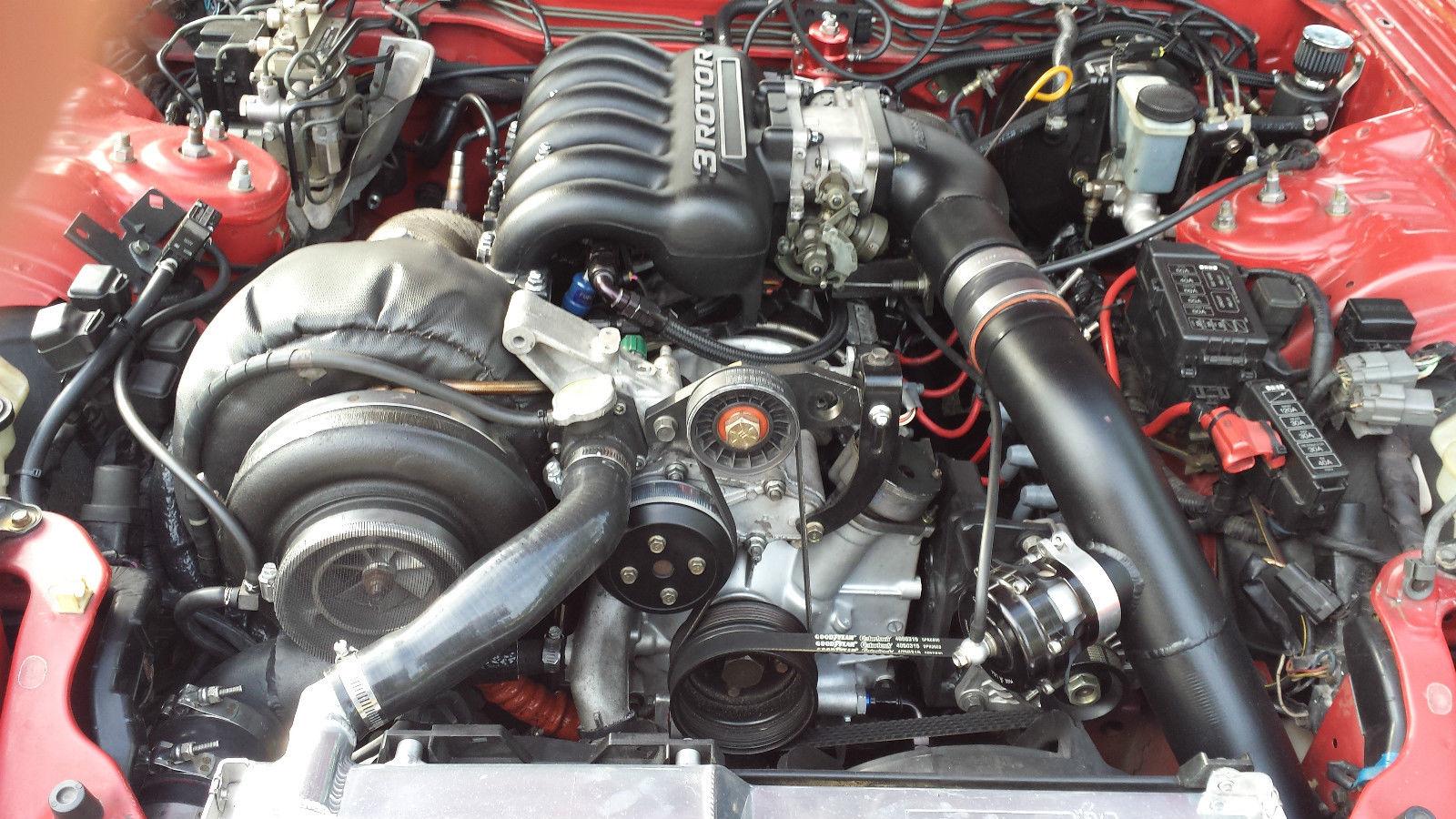 Mazda rx7 3 rotor for sale