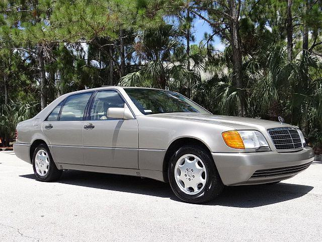 1993 mercedes 400sel no reserve low 55k miles rare for 1993 mercedes benz 400sel for sale
