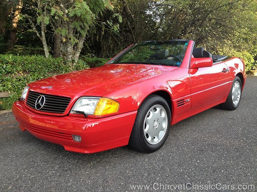 1993 mercedes 600sl v12 1 935 actual miles like new. Black Bedroom Furniture Sets. Home Design Ideas