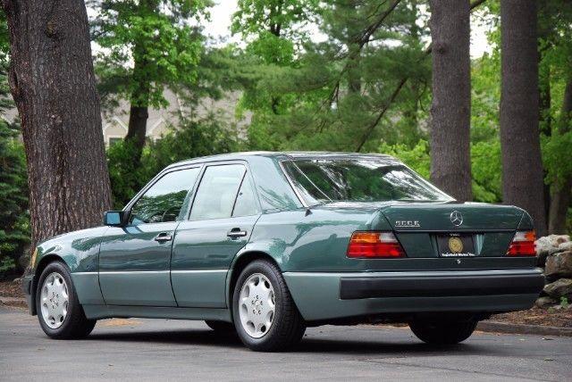 1993 mercedes benz 500e sedan spruce green rwd v8 porsche for Mercedes benz green