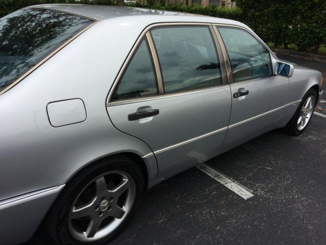 1993 Mercedes Benz 500sel Base Sedan 4 Door 5 0l S500 91k