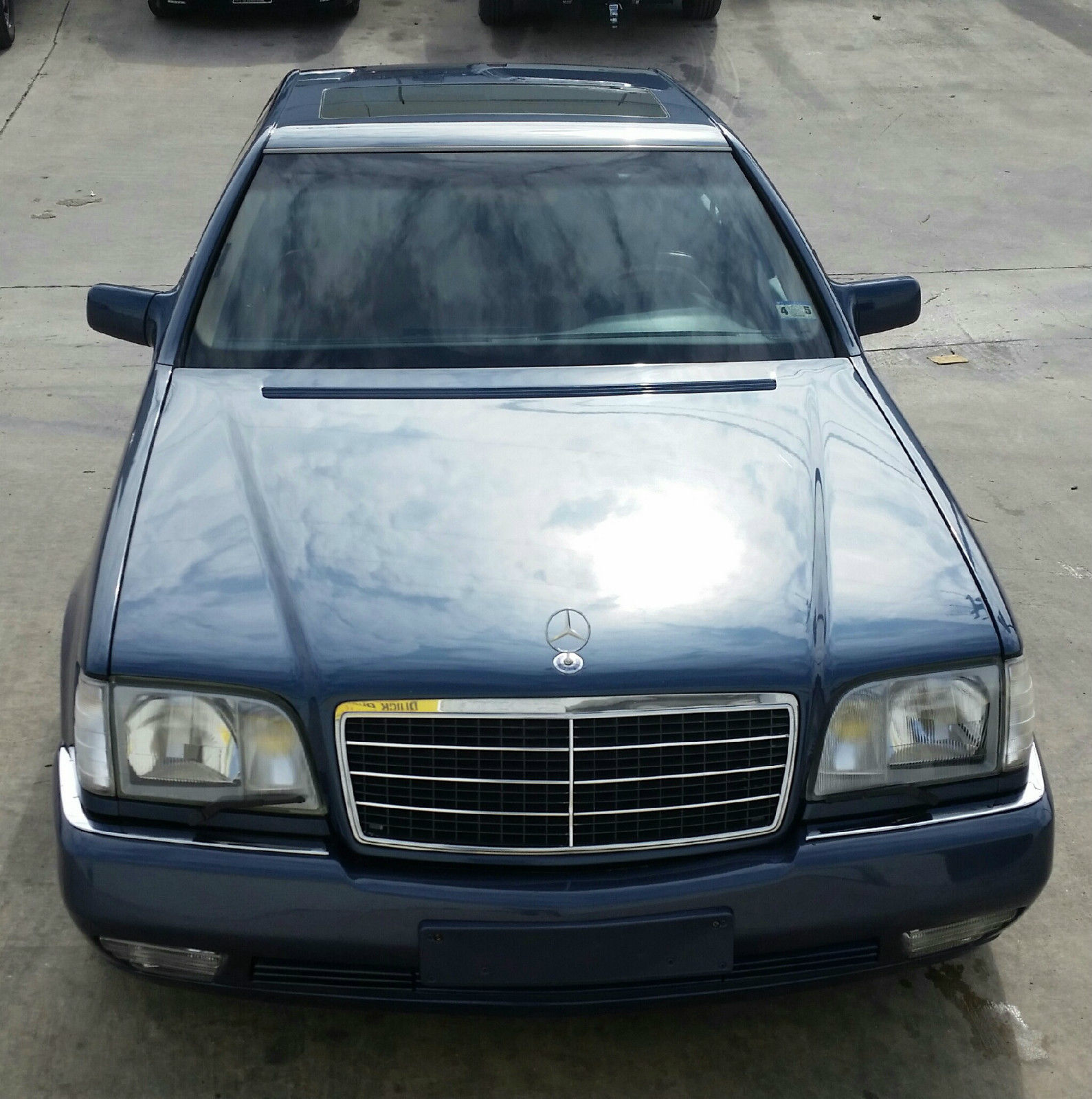 1993 mercedes benz 600sel sedan 4 door 6 0l lorinser for Mercedes benz 4 door