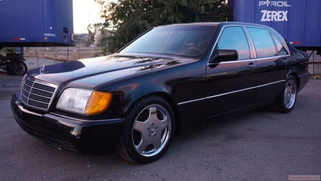 1993 mercedes benz 600sel v12 s600 w140 s 600 big body for Mercedes benz big car