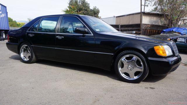 1993 Mercedes Benz 600sel V12 S600 W140 S 600 Big Body