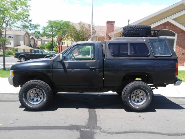 Nissan Hardbody D X Offroad Vehicle on Dodge Dakota Extended Cab 4x4