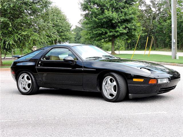 1993 porsche 928 gts manual 69 673 miles black coupe 60k. Black Bedroom Furniture Sets. Home Design Ideas