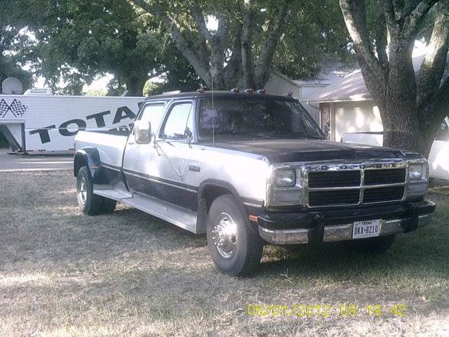 rare dodge 4 door diesel dually classic dodge ram 3500 1993 for sale. Cars Review. Best American Auto & Cars Review