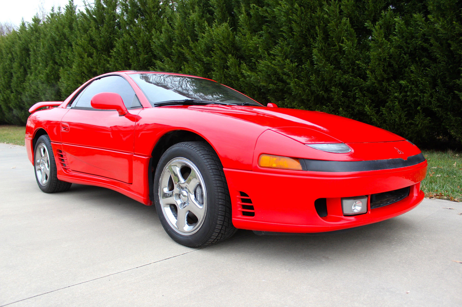 1993 red mitsubishi 3000gt vr4 in very good condition. Black Bedroom Furniture Sets. Home Design Ideas