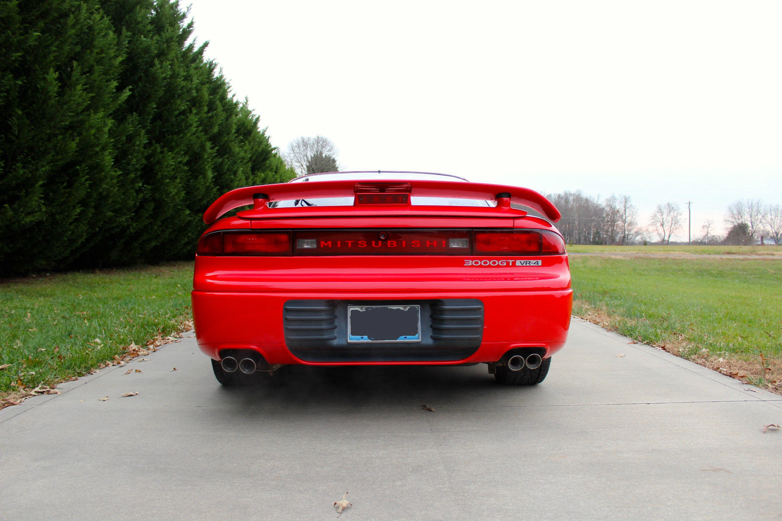 1993 Red Mitsubishi 3000gt Vr4 In Very Good Condition