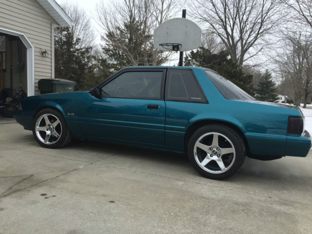 1993 Reef Blue Ford Mustang 5.0 - Classic Ford Mustang ...