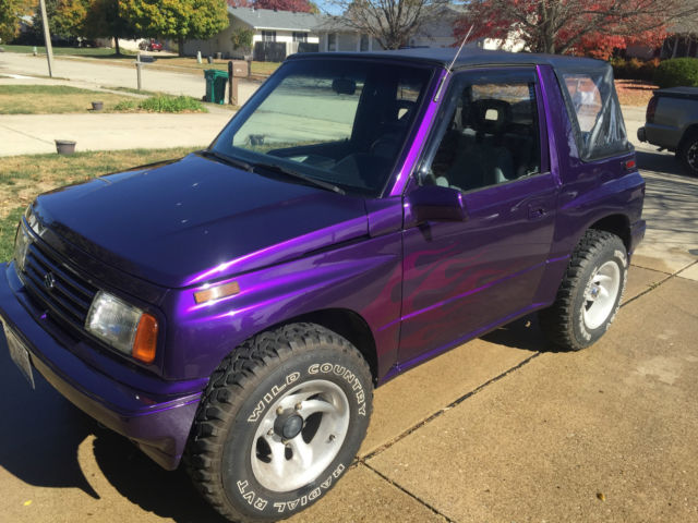 1993 Suzuki Sidekick Custom Purple Paint 4x4 Classic