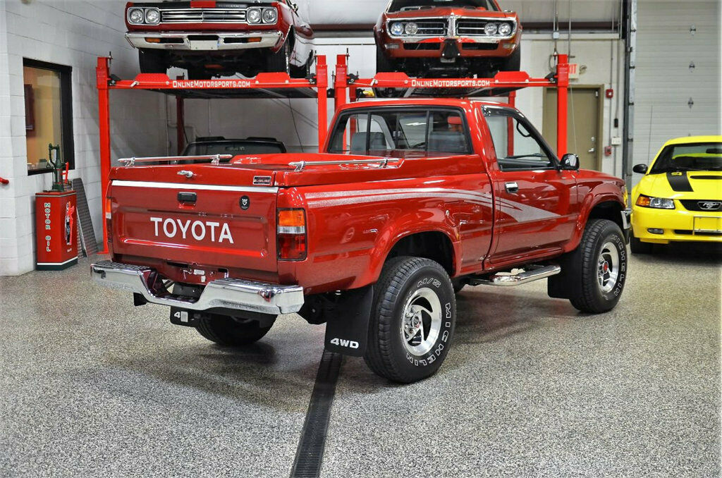 1993 Toyota 4x4 Short Bed Pickup 22r