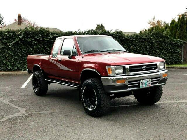 Lifted Toyota Tacoma >> 1993 Toyota Pickup 4x4 Lifted 32'Inch Tire SR5 V6 Extra ...